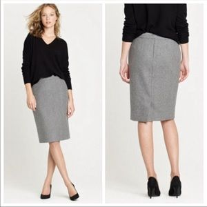 J.Crew Wool No.2 Pencil Skirt